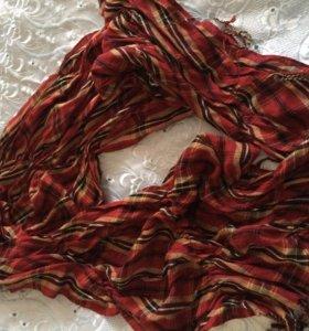 продам шарфик ,расцветка-шотландка