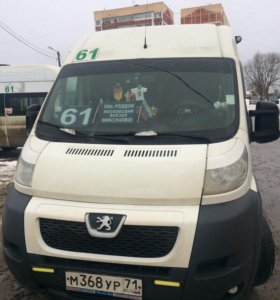 Peugeot Boxer 2.2МТ, 2012, микроавтобус