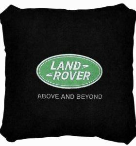 Подушка LandRover черная