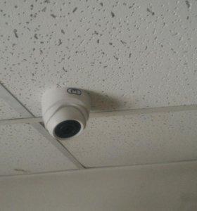Видеонаблюдение, охранно-пожарная сигнализация
