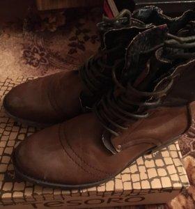 Мужские фирменные ботинки
