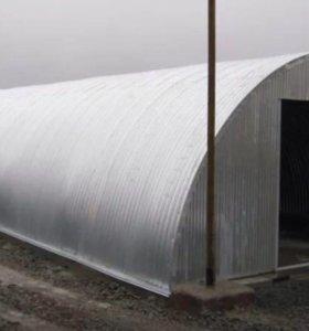 Арочный ангар 12 метров на 30 метров