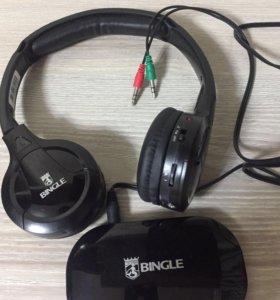 Беспроводные Bluetooth наушники Bingle B616