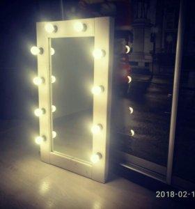 Гримерное зеркало без лампочек