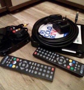 Комплект триколор на 2 телевизора GS E501 + антена
