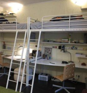 2-ярусная кровать + рабочее место