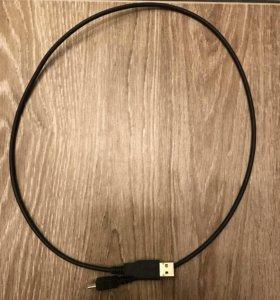 Переходники usb-usb mini, 0,8 м