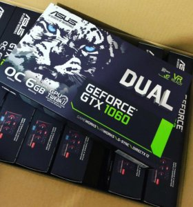Видеокарты Asus GeForce GTX 1060 6Gb
