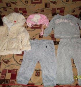 Вещи для девочек до 1 года