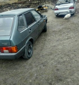 Крышка багажника на ВАЗ 2108, 09
