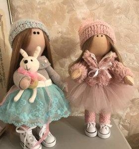 Куклы текстильные интерьерные
