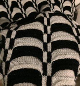 Длинный свитер, туника с горлом, тёплое платье