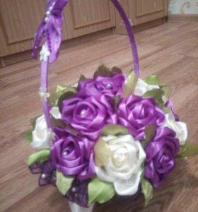 Карзина с розами