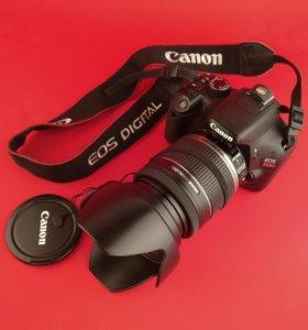 Фотоаппарат Canon 550d+объектив canon 18-200