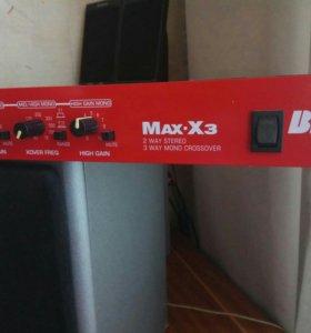 BBE Max-X3 кроссовер со встроенным максимайзером