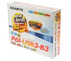 Gigabyte LGA1155 GA-P61-USB3-B3 H61 2xDDR3