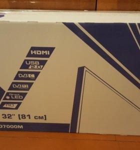 Led телевизор DEXP H32D7000M диагональ 32 (81см)