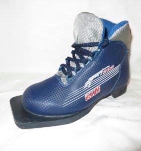 Лыжные ботинки 33 размер.