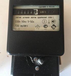 Счётчик электроэнергии однофазный СОЭБ-1