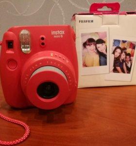 Стильный НОВЫЙ фотоаппарат INSTAX Mini 8