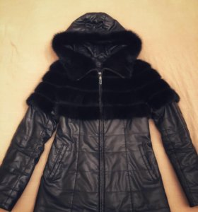 Куртка - жилетка с норкой