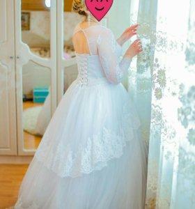 Свадебное платье 48-52. Идеальное состояние!