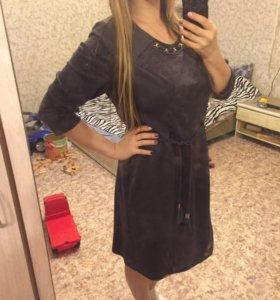 Платье новое велюр