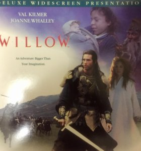 Laser Disc's(2шт.) WilloW