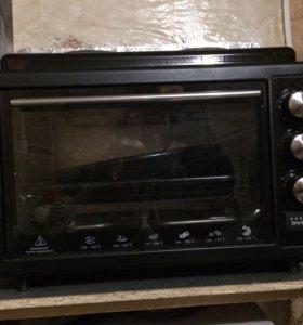 Электрическая духовка, плита