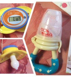 Ниблер и термометр