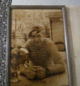 Фото подарок портрет.