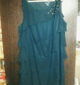 Платье со стразами