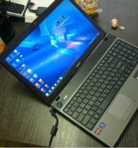 "Игровой Ноутбук 15.6"" Penom X3 N830 Radeon HD 5650"