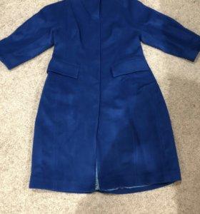Женское новое шерстяное пальто