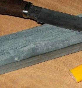 Заточка, полировка ножей, ножниц.