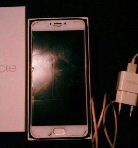 Смартфон Meizu M3 Note 16 ГБ золотой