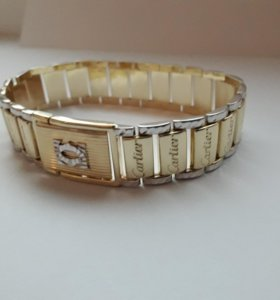 Золотой браслет 585 пробы Cartier