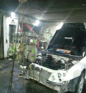Слесарный ремонт, кузовной ремонт автомобиля.