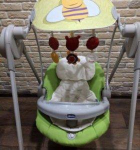 Электрокачели детские Chicco Polly swing up