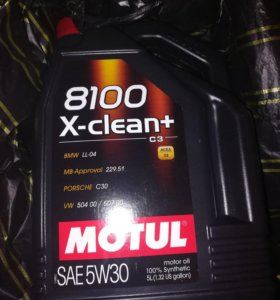 Motul X-clean 5w30 5 литров масло для двигателя