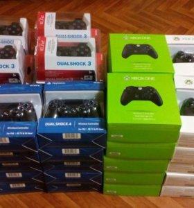 Геймпады Dualshock PS 4/PS 3/Xbox one/xbox 360