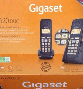 Радио телефон Gigaset A120 duo