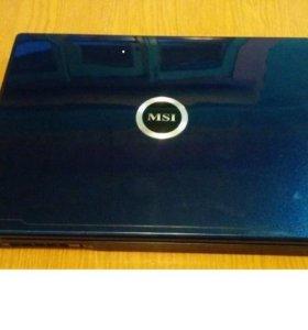 нутбук MSI EX600