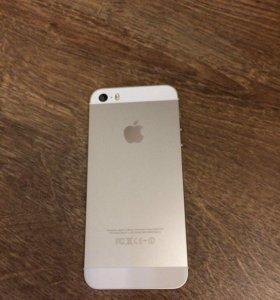 Продам iPhone 5s silver 16 гб