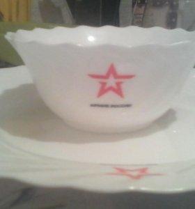 Посуда с символикой Армия России