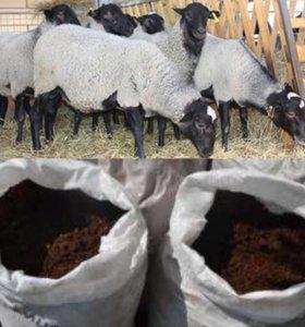Перегной овечий в мешках доставка