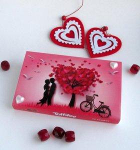 Подарок на 8 марта конфеты тоффифи
