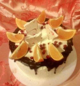 Вкусные Торты и пирожные на заказ