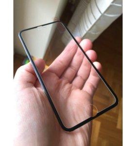 защитные 3D стекла для Айфонов(полное покрытие)