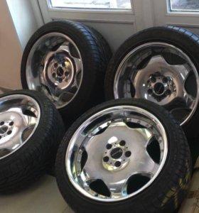 Разноширокие колеса SSR Visconti lxd r18 5x114,3
